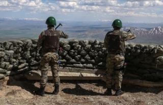 Barış Pınarı bölgesinde 5 PKK/YPG'li terörist...