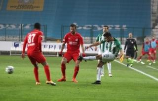 Müsabaka Sivassspor'un 1-0'lık üstünlüğüyle...