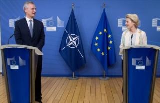 NATO ile AB'den ortaklık vurgusu