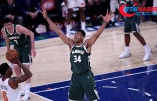 NBA'de Giannis Antetokounmpo'dan rekor kontrat