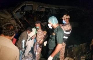 Pakistan'da fabrikada patlama: 8 ölü, 31 yaralı
