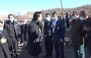 PKK'nın Hamzalı'da katlettiği 23 şehit törenle...