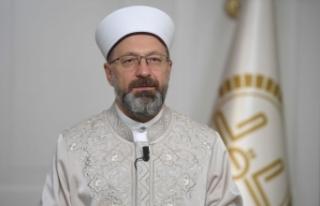 "Prof. Dr. Erbaş: ""Bıkmadan, usanmadan vaaz,..."