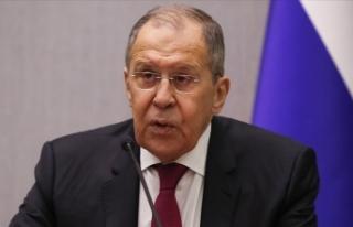 """Rusya Dışişleri Bakanı Lavrov: """"Afganistan'daki..."""