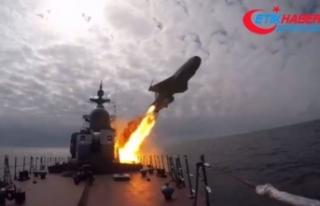 Rusya'dan, Baltık ve Beyaz Deniz'de seyir füzeleri...