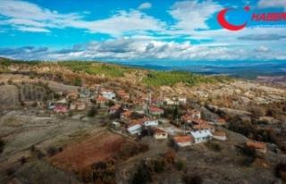 Salgın öncesi 4 kişinin yaşadığı dağ köyünün...
