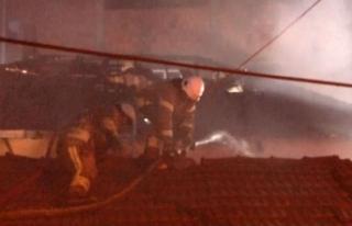 Sarıyer'de 3 gecekondu alev alev yandı: İtfaiye...
