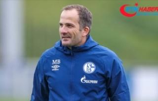 Schalke 04 teknik direktör Manuel Baum'un görevine...