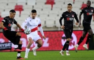 Sivasspor'un Süper Lig'de sahasındaki...