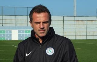"Stjepan Tomas: ""Karagümrük maçıyla eski tempomuzu..."