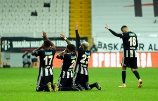 Süper Lig: Beşiktaş: 3 - Sivasspor: 0 (Maç sonucu)