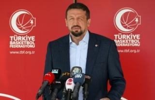 TBF Başkanı Hidayet Türkoğlu'ndan teşekkür...