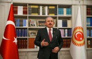 """TBMM Başkanı Şentop: """"Türkçe olmasaydı tarihteki..."""
