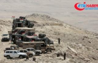 Terör örgütü YPG/PKK Suriye üzerinden Irak'taki...
