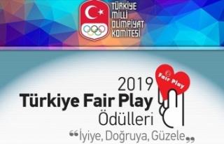 TMOK 2019 Türkiye Fair Play Ödülleri sahiplerini...