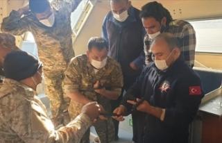 TSK'dan Libya ordusuna sualtı savunma eğitimi...