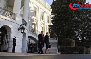 ABD Başkanı Donald Trump Beyaz Saray'dan ayrıldı