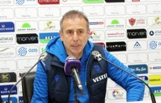 """Abdullah Avcı: """"Ayakta sağlam durarak maçı..."""