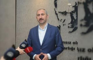 Adalet Bakanı Abdülhamit Gül'den İstanbul Havalimanı'ndaki...