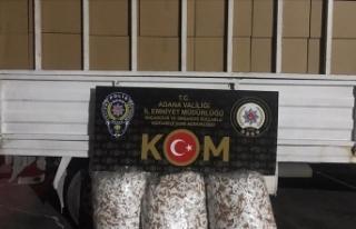 Adana'da kaçak 2 milyon 740 bin makaron ele...