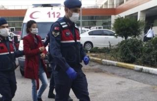 Antalya'da bir kadının kendisini darbeden kocasını...
