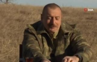 Azerbaycan Cumhurbaşkanı Aliyev'in Karabağ Savaşı...