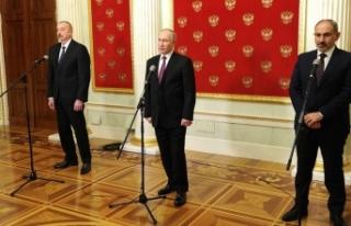 Azerbaycan, Rusya ve Ermenistan liderlerinin zirvesi...
