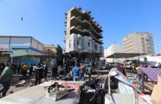 Bağdat'taki çifte intihar saldırısını DEAŞ...