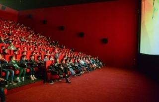Trabzon'da sinema salonlarının açılışı...
