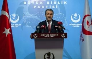 BBP Genel Başkanı Destici: Artırılan zirai kredi...