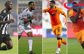 Beşiktaş ve Galatasaray'ın golcüleri derbiyi...