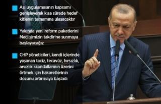Cumhurbaşkanı Erdoğan'dan restoran ve kafelere...