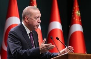 """Cumhurbaşkanı Erdoğan: """"Herkes davasını..."""