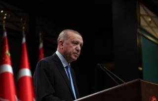 Cumhurbaşkanı Erdoğan Telegram'dan bugünkü...