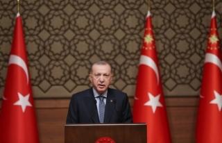 """Cumhurbaşkanı Erdoğan: """"Türkiye'nin verisi..."""