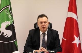 Denizlispor Başkanı Çetin: Görevimizi layıkıyla...