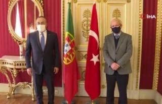 Dışişleri Bakanı Çavuşoğlu, Portekiz Dışişleri...