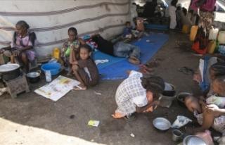Etiyopya'daki çatışmalar nedeniyle Sudan'a...