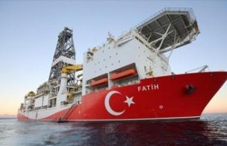 Fatih sondaj gemisi Karadeniz'deki yeni sondaj...