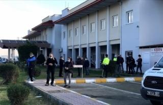 Fethiye'de görevi başında rahatsızlanan polis...