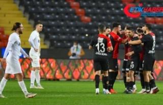 Gaziantep FK'yi MKE Ankaragücü de durduramadı