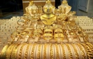 Altının gram fiyatı 497 lira seviyesinden işlem...