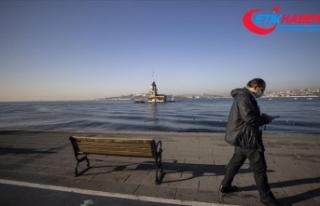İstanbul sokağa kısıtlamasının ikinci gününü...