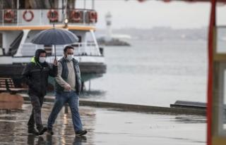 İstanbul'da öğleden sonra sağanak yağışın...