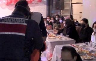 İstanbul'da yılbaşı gecesi 8 bin 231 kişiye...
