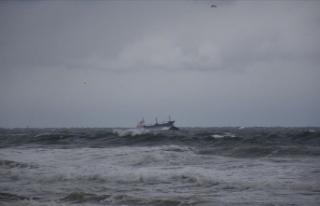 Karadeniz'de batan kuru yük gemisinden 6 kişi...