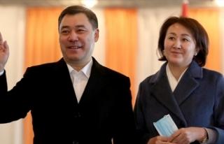 Kırgızistan'da cumhurbaşkanlığı seçimlerinde...