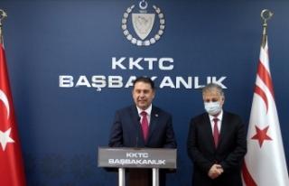 KKTC Başbakanı Saner: Nüfusun yüzde 80'inin...