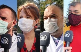 KKTC'de halk Kovid-19 aşısı olmaya sıcak...