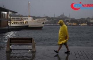 Marmara'nın doğusu ile İstanbul'da aralıklı...